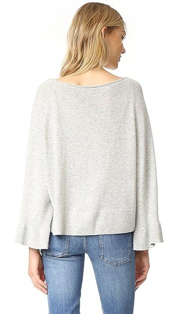 Elizabeth and James Freja Flutter Sleeve Sweater