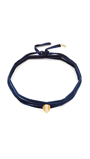 Elizabeth and James Vaya Velvet Choker