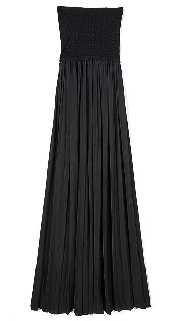 Elizabeth and James Emmaline Strapless Combo Dress