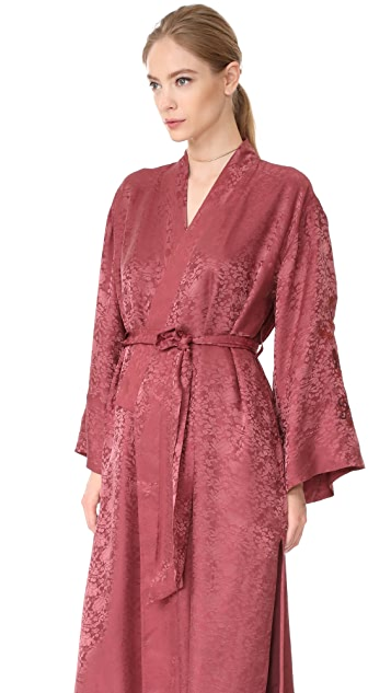 Elizabeth and James Tracey Wide Sleeve Robe Wrap Jacket