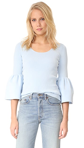 Elizabeth and James Willetta Flare Sleeve Top