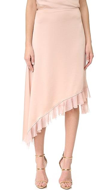 272116fd6a453 Elizabeth and James Ailie Asymmetric Ruffle Skirt