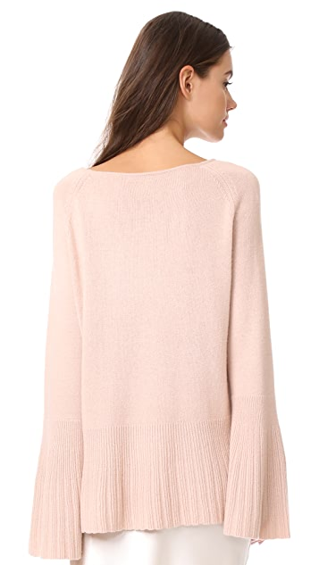 Elizabeth and James Clarette Wide Sleeve Sweater