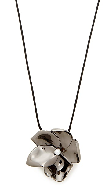 Elizabeth and James Long Posy Pendant Neklace