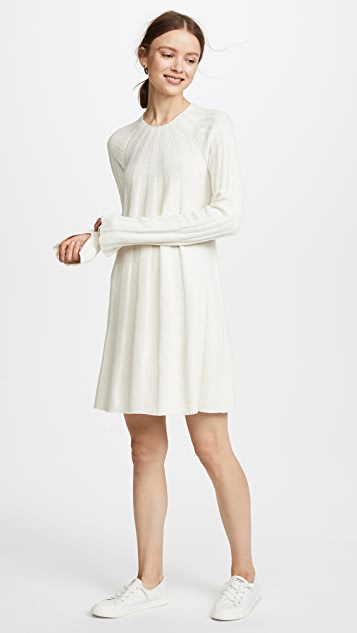 Elizabeth and James Gerri High Neck Swing Dress