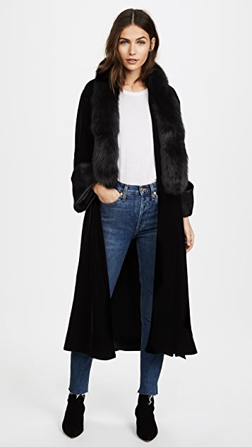 Elizabeth and James Mitzi Long Jacket | SHOPBOP