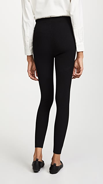 Elizabeth and James Willem Tight Fitted Ribbed Pants