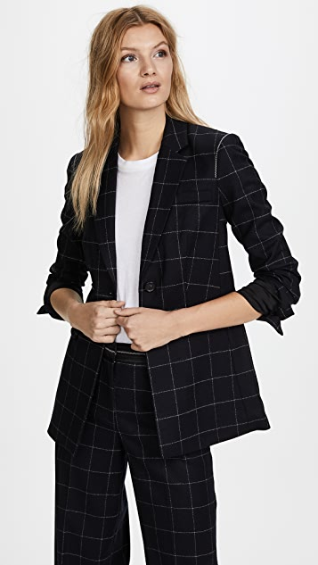 Capprice Window Pane Blazer by Elizabeth And James