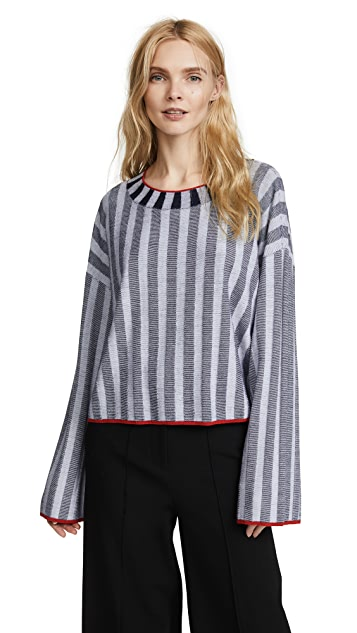Elizabeth and James Campbell Wide Sleeve Sweater