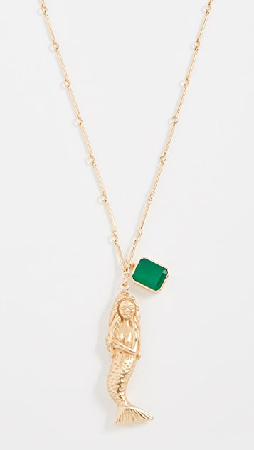 Elizabeth and James Mallory Mermaid Necklace