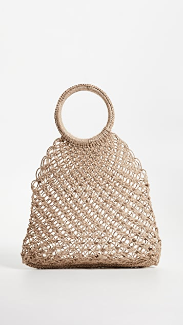 Elizabeth and James Alfonso Jute Tote Bag