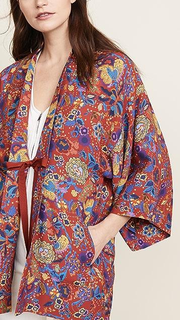 Elizabeth and James Drew Kimono
