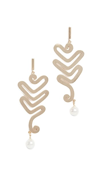 Elizabeth and James Willow Earrings