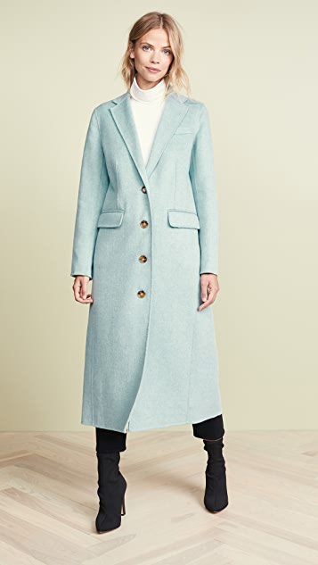 Elizabeth and James Russell Coat
