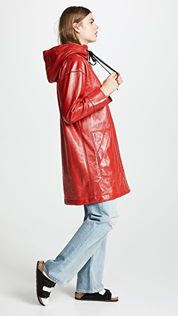 Elizabeth and James Varick Raincoat