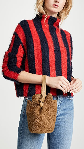 Elizabeth and James Small French Fry Teddy Wristlet