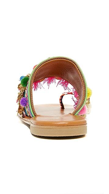 Elina Linardaki Jaipur Toe Ring Sandals