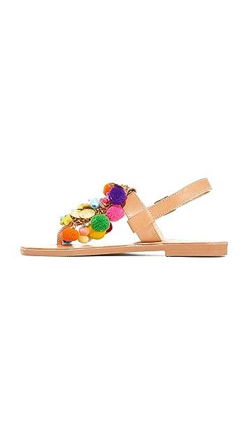 Elina Linardaki Jelly Tots Thong Sandals