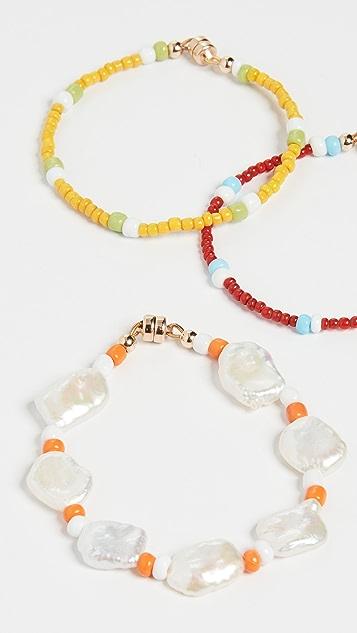 Eliou Tivoli Trio Bracelets Set