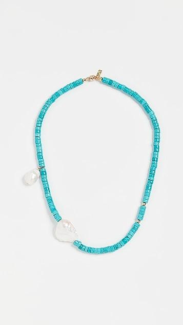Eliou Gela 绿松石项链