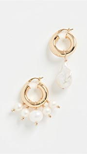 Eliou Sandro Pearl & Ios Earrings