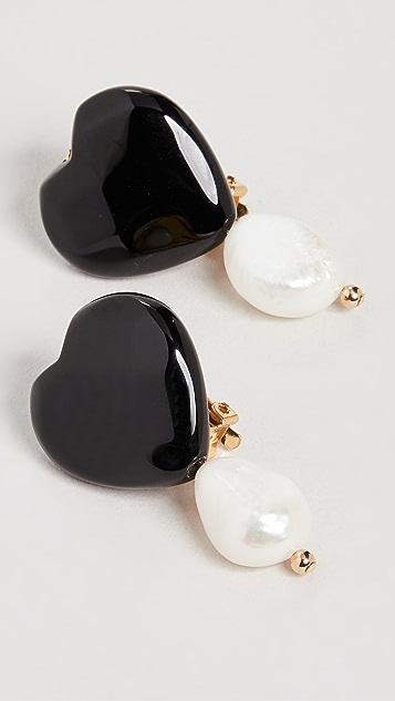 Eliou Nero Earrings