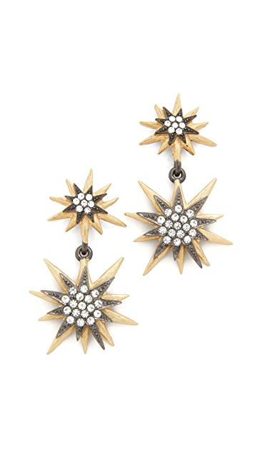 Elizabeth Cole Blast Earrings