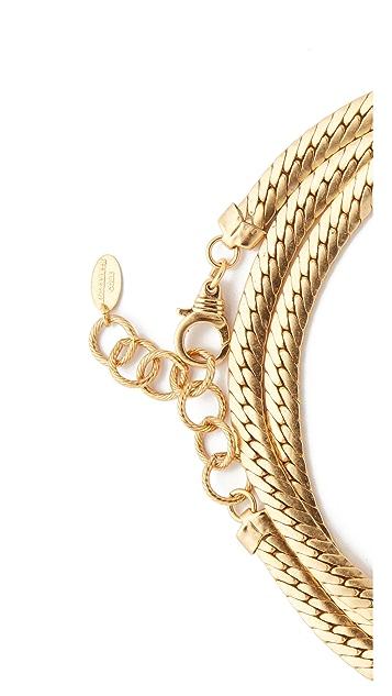 Elizabeth Cole Wrap Choker Necklace