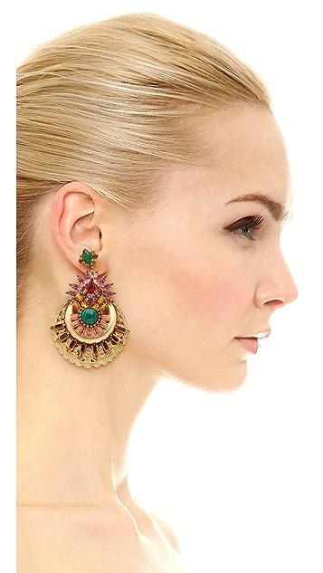 Elizabeth Cole Venessa Earrings