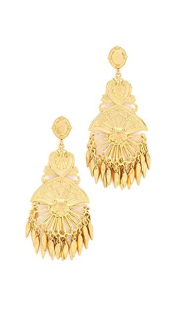Elizabeth Cole Maria Earrings