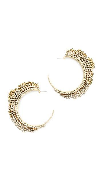 Elizabeth Cole Raven Earrings