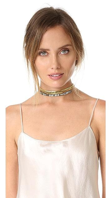 Elizabeth Cole Brix Choker Necklace