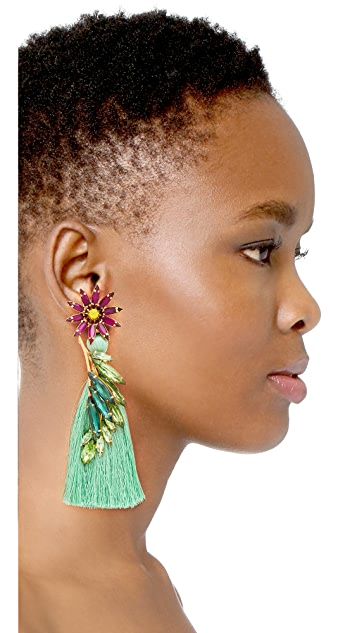 Elizabeth Cole Tiarra Earrings