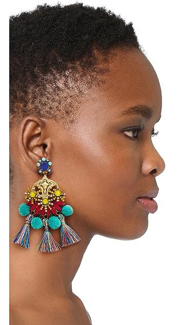 Elizabeth Cole Zwena Earrings