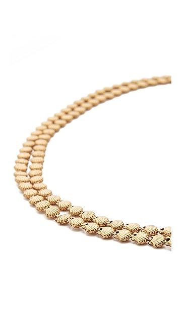 Elizabeth Cole Sheila Wrap Choker Necklace