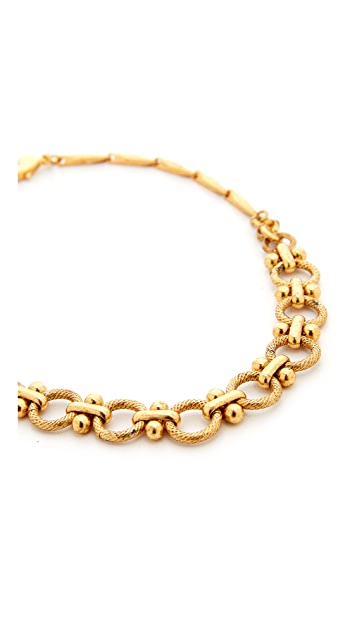 Elizabeth Cole Chain Choker Necklace