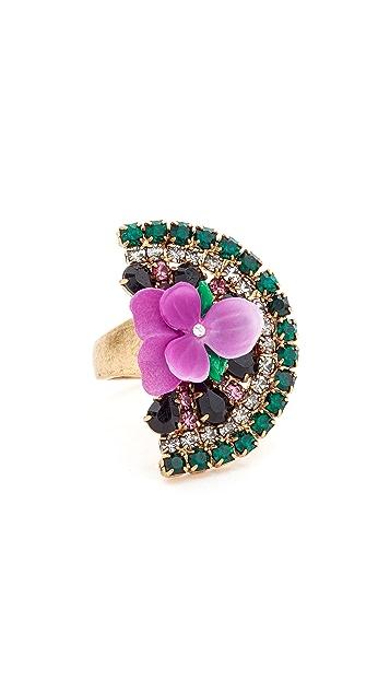 Elizabeth Cole Watermelon Ring