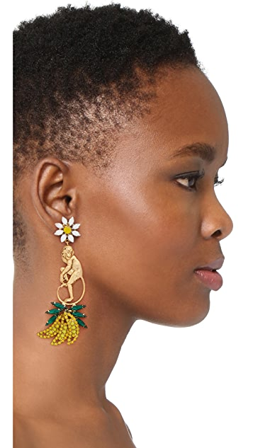 Elizabeth Cole Banyan Earrings