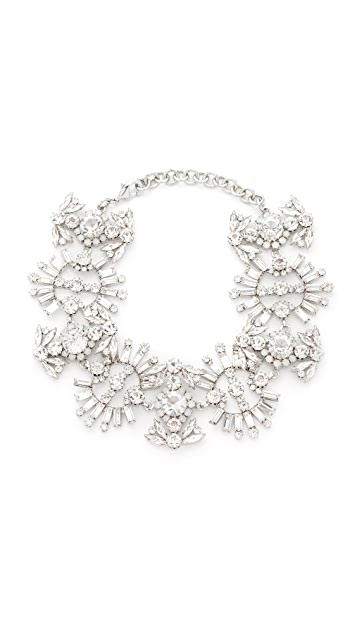 Elizabeth Cole Paxon Crystal Choker Necklace