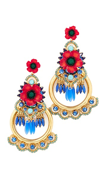 Elizabeth Cole Eliza Earrings