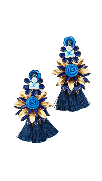 Elizabeth Cole Sarah Earrings