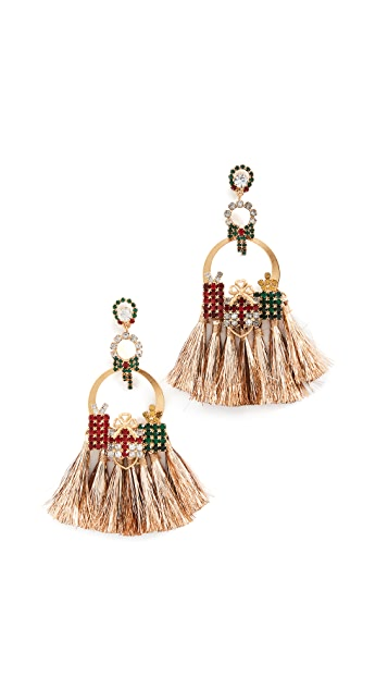 Elizabeth Cole Tinsel Earrings