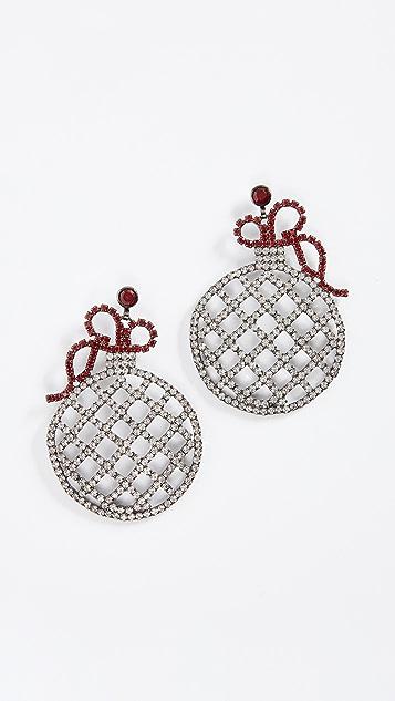 Elizabeth Cole Sparkle Earrings