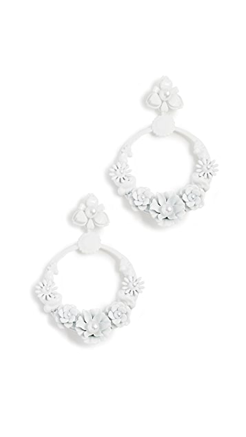 Elizabeth Cole Pearson Earrings