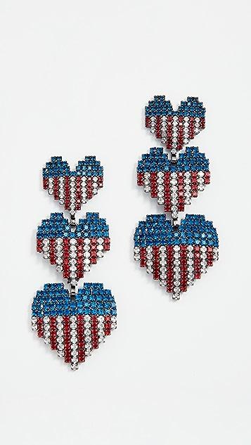 Elizabeth Cole Habika Earrings