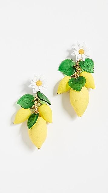 Elizabeth Cole Thaddea Earrings