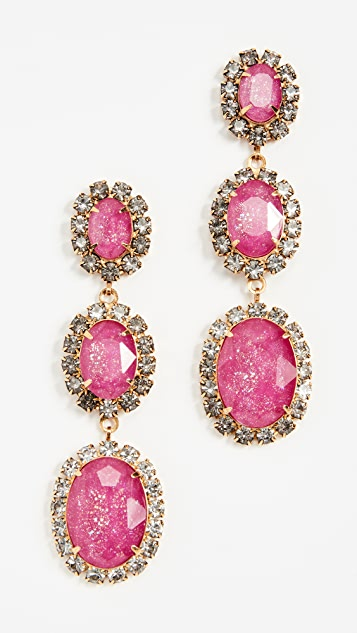Elizabeth Cole Lawrence Jame Earrings