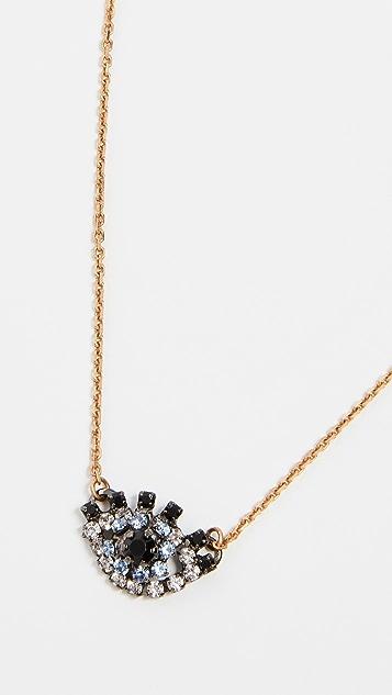 Elizabeth Cole Orbs Necklace