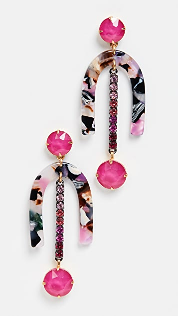 Elizabeth Cole Evelyn Earrings