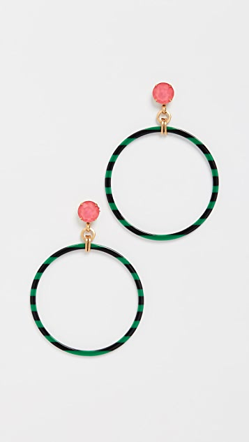 Elizabeth Cole Levi Earrings